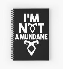 Not a mundane v2 Spiral Notebook