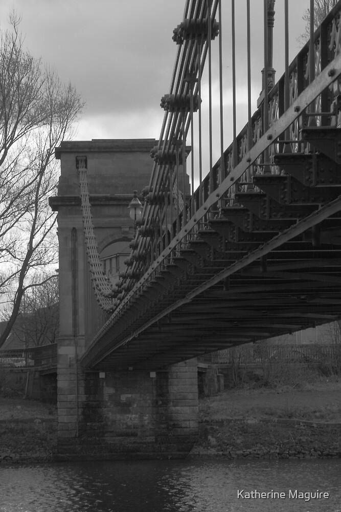 Foot bridge by Katherine Maguire