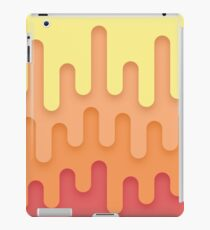 Dripping Yellow to Red iPad Case/Skin