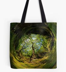 Ness Glen, Mystical Irish Wood Tote Bag