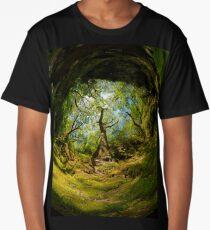 Ness Glen, Mystical Irish Wood Long T-Shirt