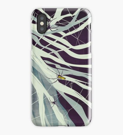 Spiders in my hair iPhone Case