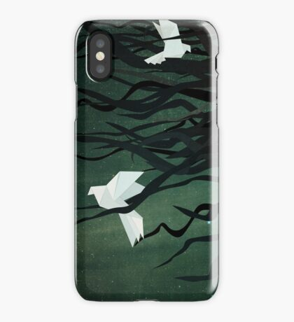 Birds in my hair iPhone Case