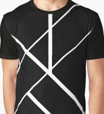 Architectural Voltage White on Black Graphic T-Shirt