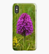 Pyramidal Orchid, Inishmore, Aran Islands  iPhone Case/Skin