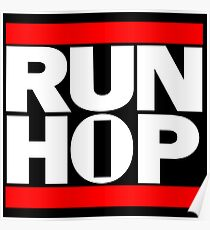 RUN HIP HOP  Poster