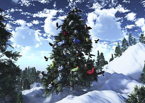 Christmas Birds by Syd Baker