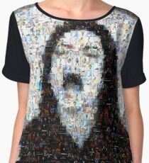 Scream MJJ Mosaic Women's Chiffon Top