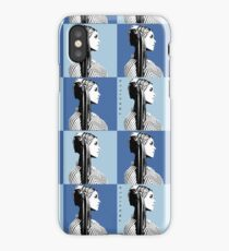 Mia Warhol Blue iPhone Case/Skin