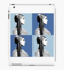 Mia Warhol Blue iPad Case/Skin