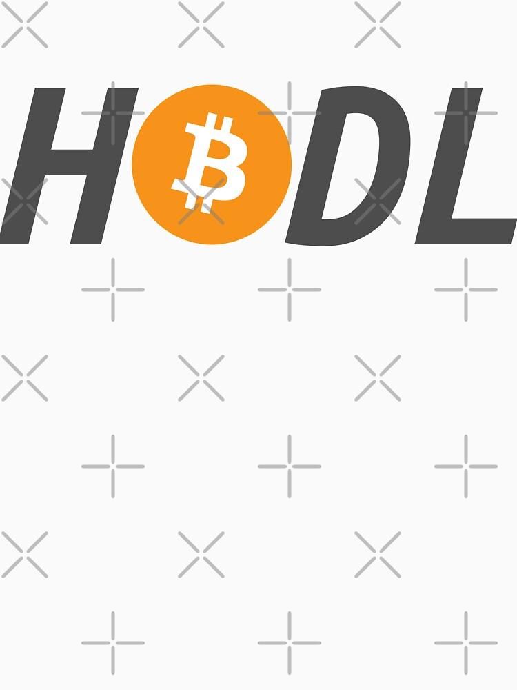 HODL - Bitcoin von cinqrouge