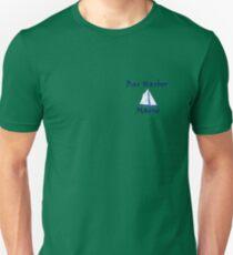 Bar Harbor Maine with Sailboat Unisex T-Shirt