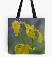 Yellow Flag Iris - Donegal Tote Bag