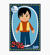 Lucas Doll  Photographic Print