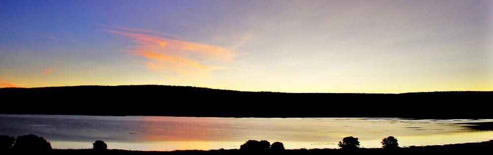 WET SUNSET.... by Jenson Yazzie
