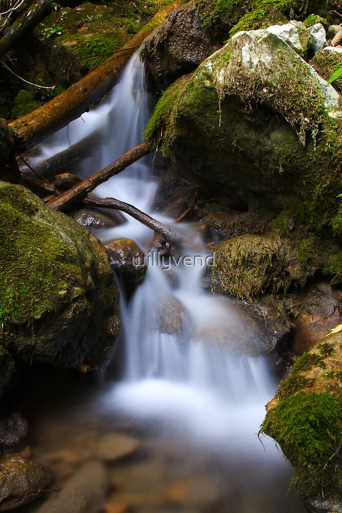 waterfall by Willy Vendeville