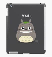 Totoro Daruma iPad Case/Skin