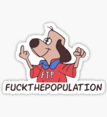 FTP cartoon dog ( $uicideboy$ ) Sticker