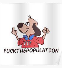 FTP cartoon dog ( $uicideboy$ ) Poster