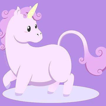 Kawaii fantasy animals - Unicorn by SilveryDreams