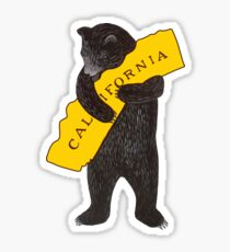 California — I Love You Sticker