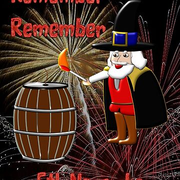 Remember, Remember 5th November, Guy Fawkes Night by ZipaC