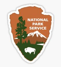 Nationalpark-Service-Logo Sticker
