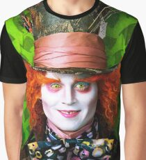 Mad Hatter from Alice in wonderland Graphic T-Shirt