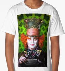 Mad Hatter from Alice in wonderland Long T-Shirt