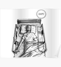 Rick Grimes - Coma Poster