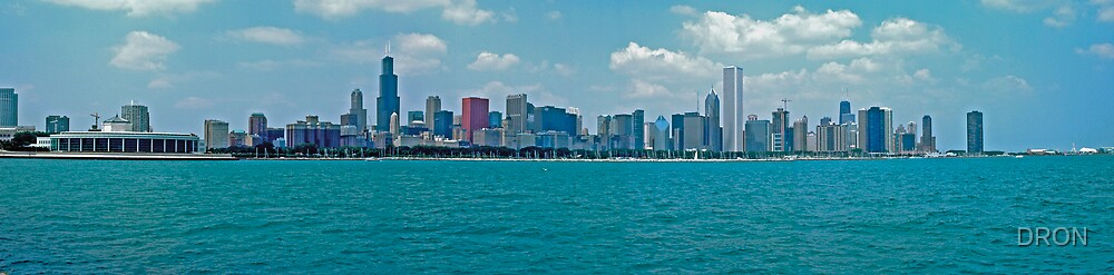 CHICAGO SKYLINE  by DRON