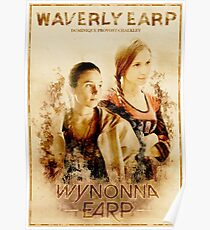 Wynonna Earp - Western Style Cast Poster #7 (Waverly Earp Special) Poster