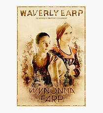 Wynonna Earp - Western Style Cast Poster #7 (Waverly Earp Special) Photographic Print