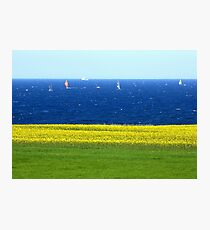 Remembering the Baltic Sea on a spring Sunday Photographic Print