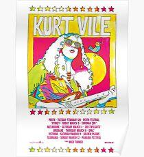 Kurt Vile - Reiseplakat Poster