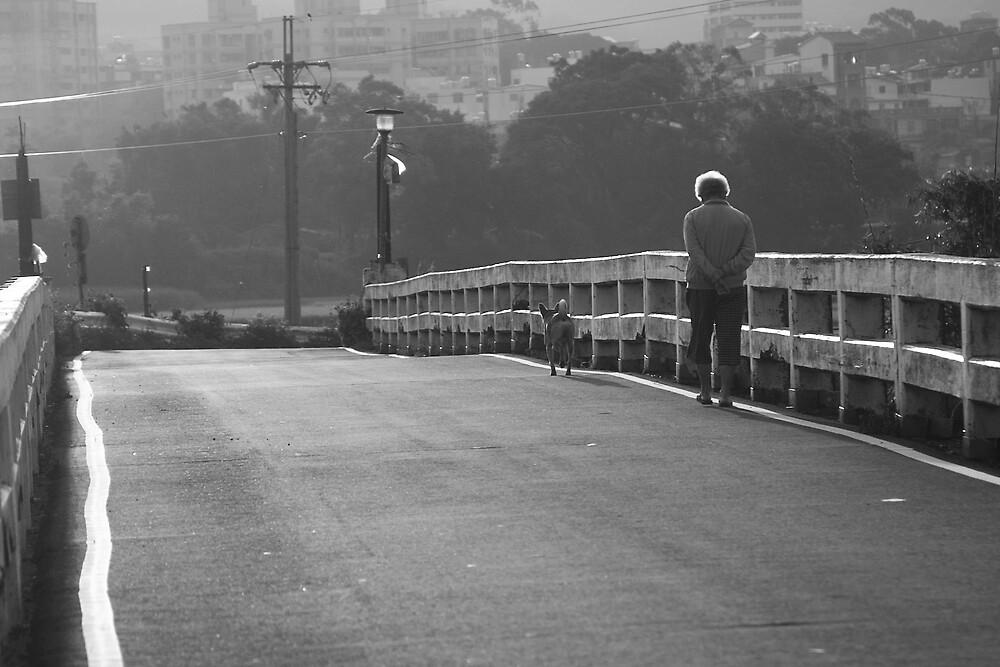 Early Morning Walk by Jeff Harris