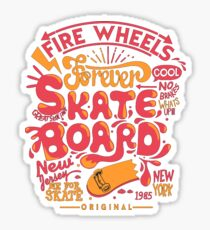 Skate Board Sticker