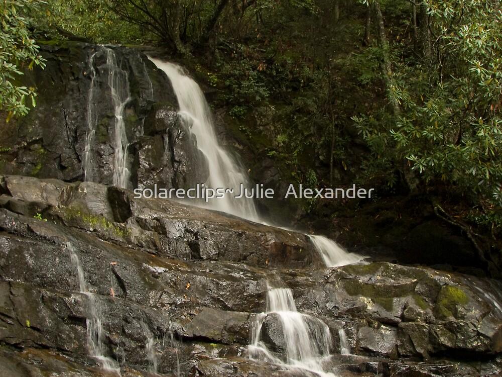 Laurel Falls ... by solareclips~Julie  Alexander