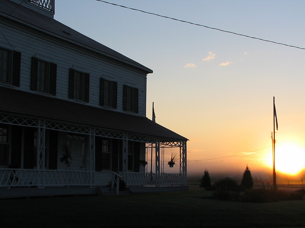 Bryson House at Sunrise by JohnEvans