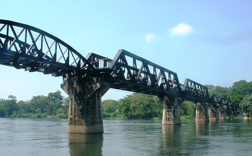 River Kwai Bridge. by Braedene