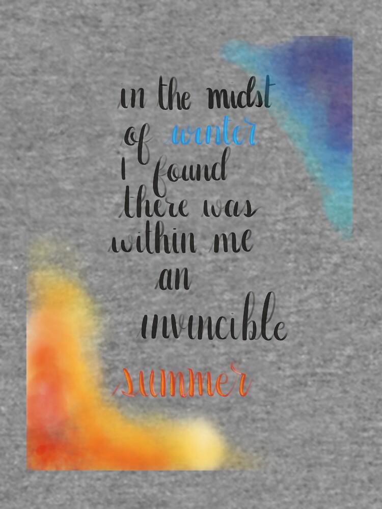 Albert Camus Zitat von Desigirldoodles