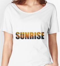 Sunrise Surprise Women's Relaxed Fit T-Shirt