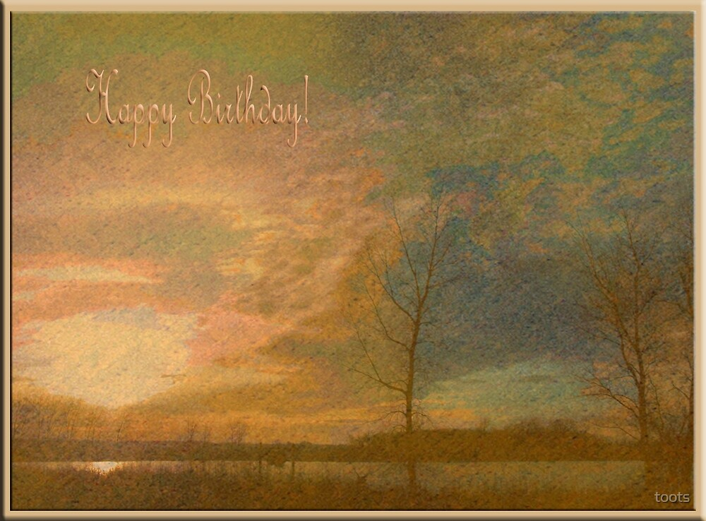 Golden Birthday by toots