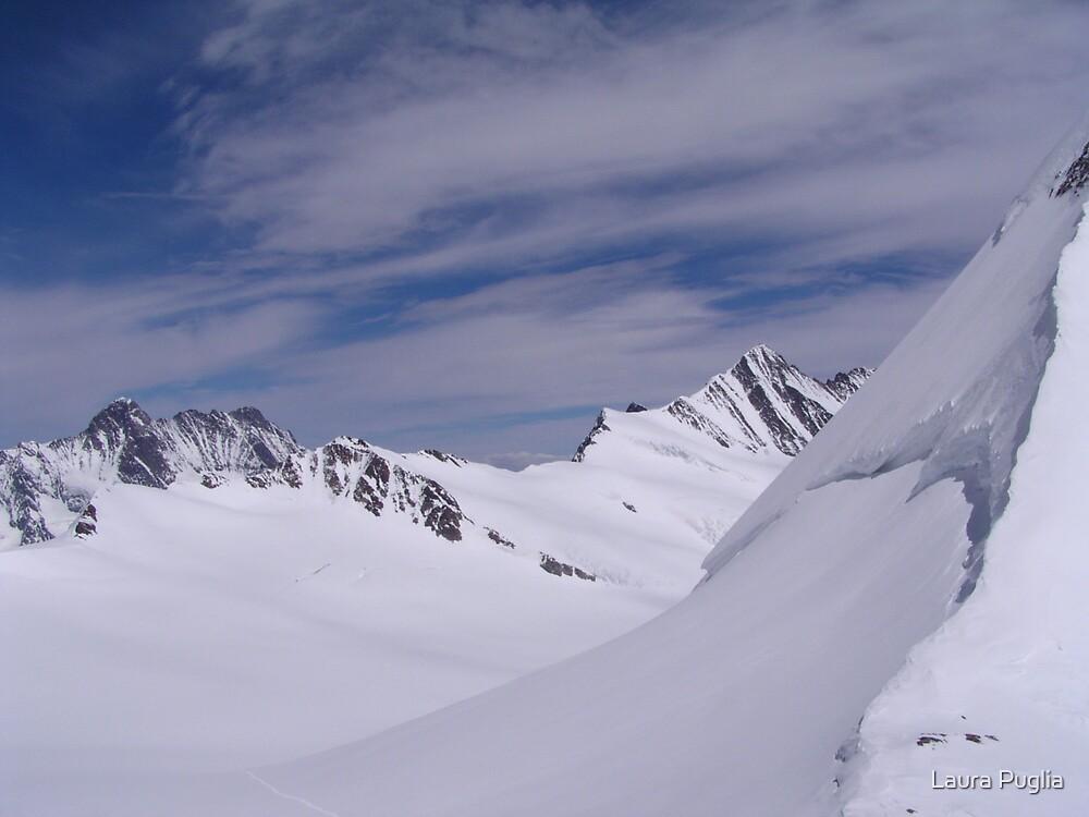 Near the Jungfraujoch by Laura Puglia