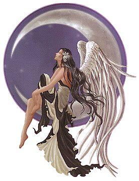 Angel Stargazer by mamachip