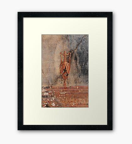 Fresco Detail  - Amphora  Framed Print