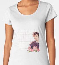 David Tennant - Doctor Who Women's Premium T-Shirt