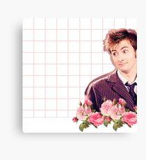 David Tennant - Doctor Who Canvas Print