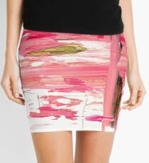 FSS Pastel Oil Abstract Mini Skirt