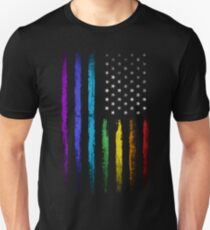 American rainbow flag T-Shirt